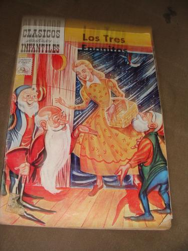 libro los tres enanitos,clasicos infantiles, 1963