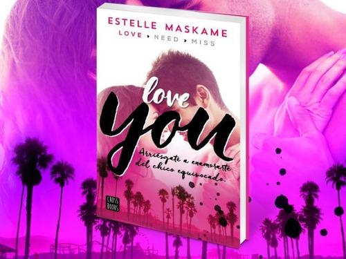libro love you de estelle maskame en oferta