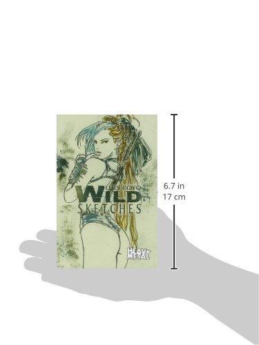 libro luis royo wild sketches volume 3 - nuevo