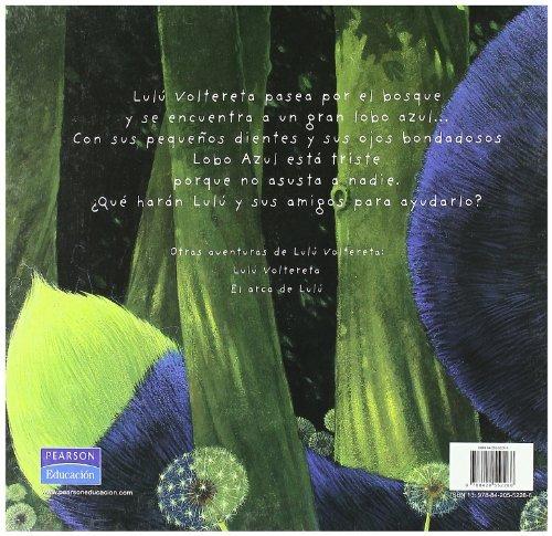 libro lulu y el lobo azul - nuevo