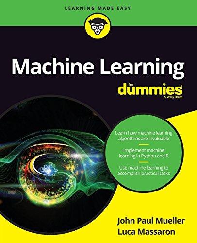 libro machine learning for dummies - nuevo