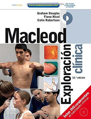 libro macleod exploracion clinica c/ student consult c/cd