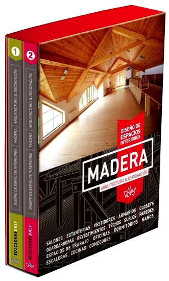 Libro madera dise o de espacios interiores s 160 00 en for Libros diseno interiores