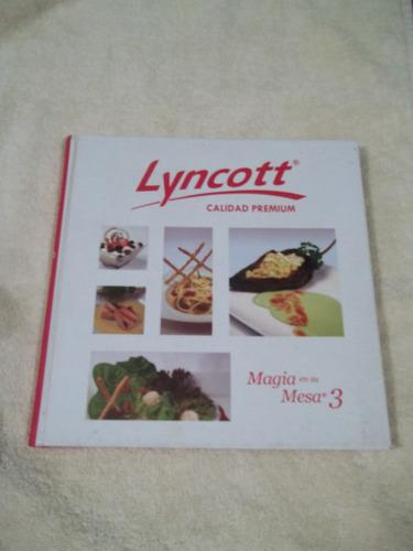 libro magia en su mesa 3, lyncott calidad premium.