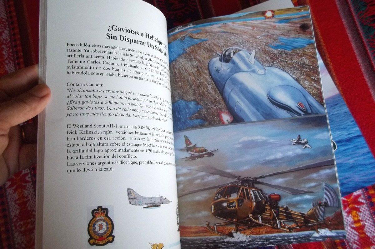 Libro Malvinas Historias En Colores Fuerza Aérea Argentina - $ 500 ...