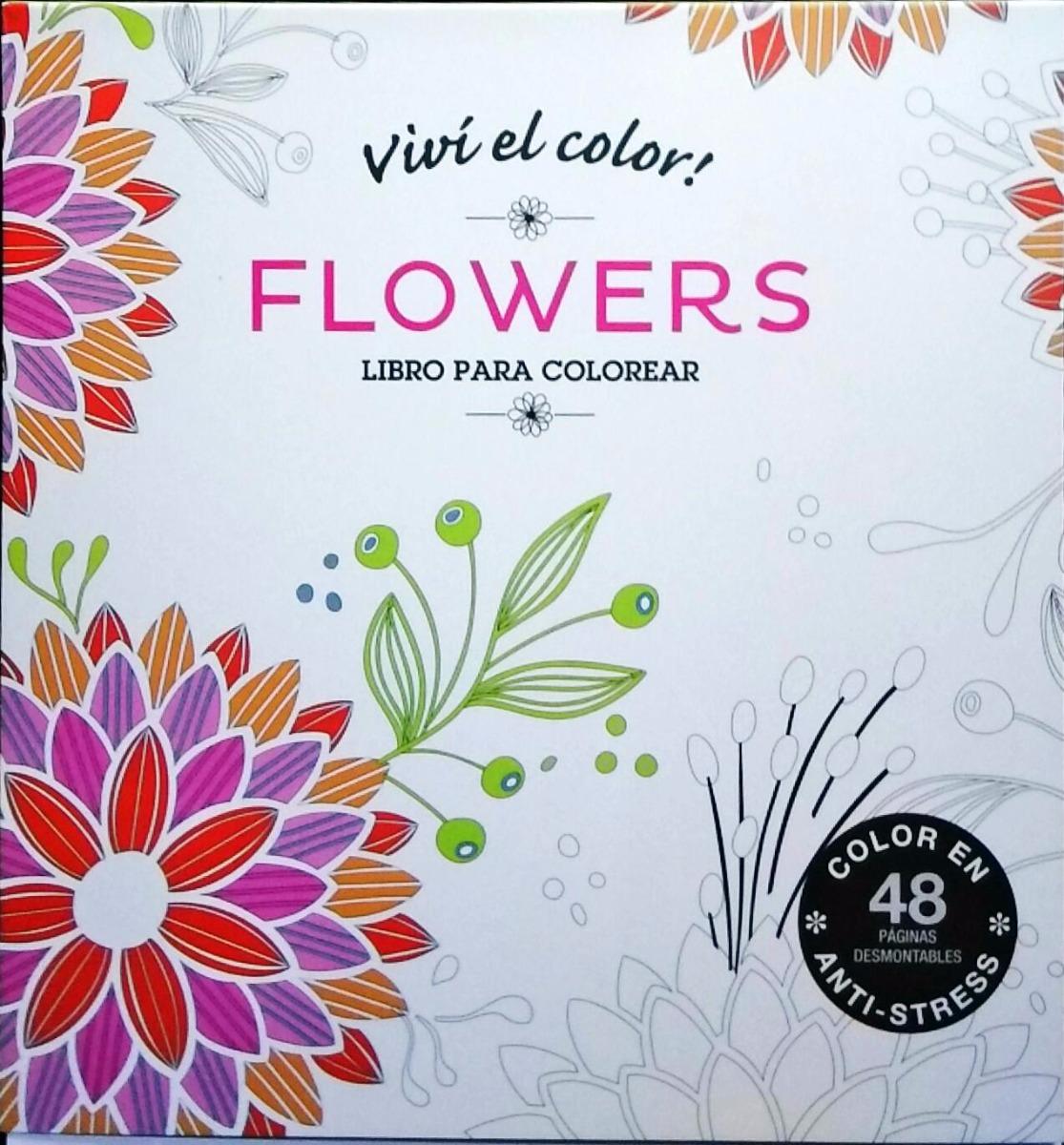 Libro Mandala Flores Anti Stress - $ 200,00 en Mercado Libre