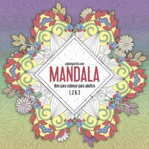 Libro : Mandala Libro Para Colorear Para Adultos 1, 2 & 3 ...