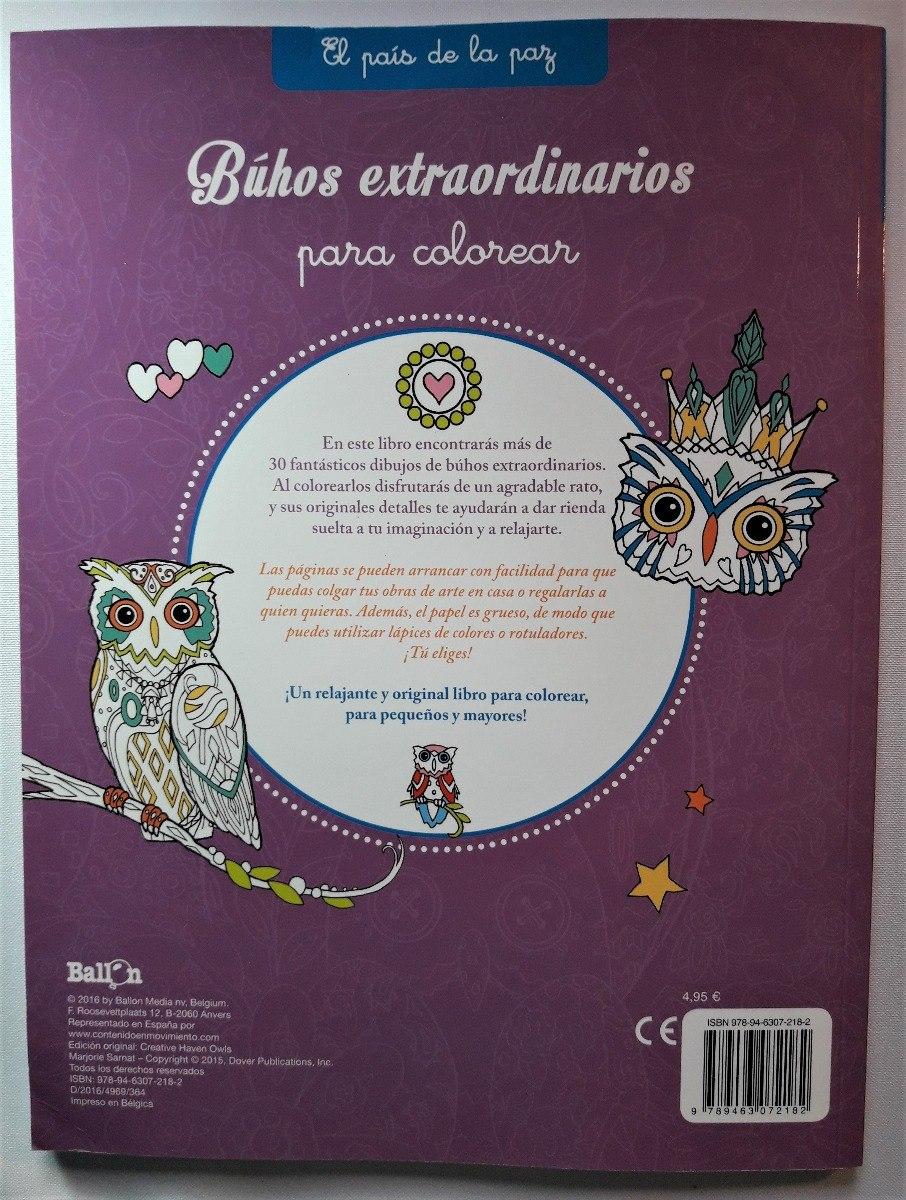 Libro Mandalas Búhos - Editorial Ballon - Nuevo - $ 5.900 en Mercado ...