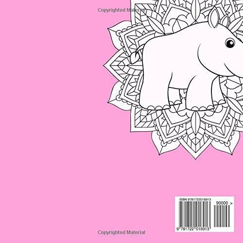 Libro Mandalas Con Animales Libro De Colorear Para Niños