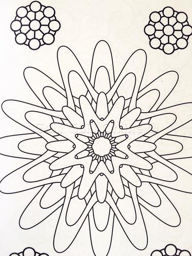 libro mandalas relajantes niños colorear diversion creativo