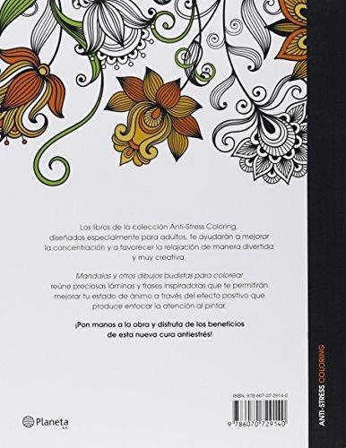 Libro Mandalas Y Otros Dibujos Budistas Para Colorear - $ 560.00 en ...