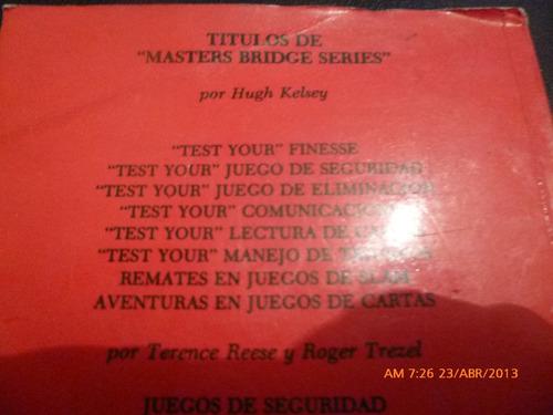 libro manejo de triunfos test your hugh kelsey (bridge(r826