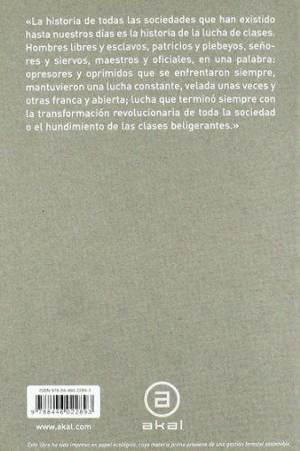libro manifiesto comunista - nuevo