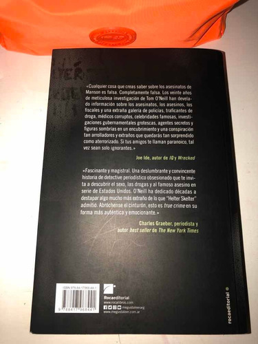 libro manson la historia real - tom oneill