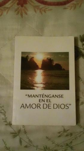 libro manténganse en el amor de dios.