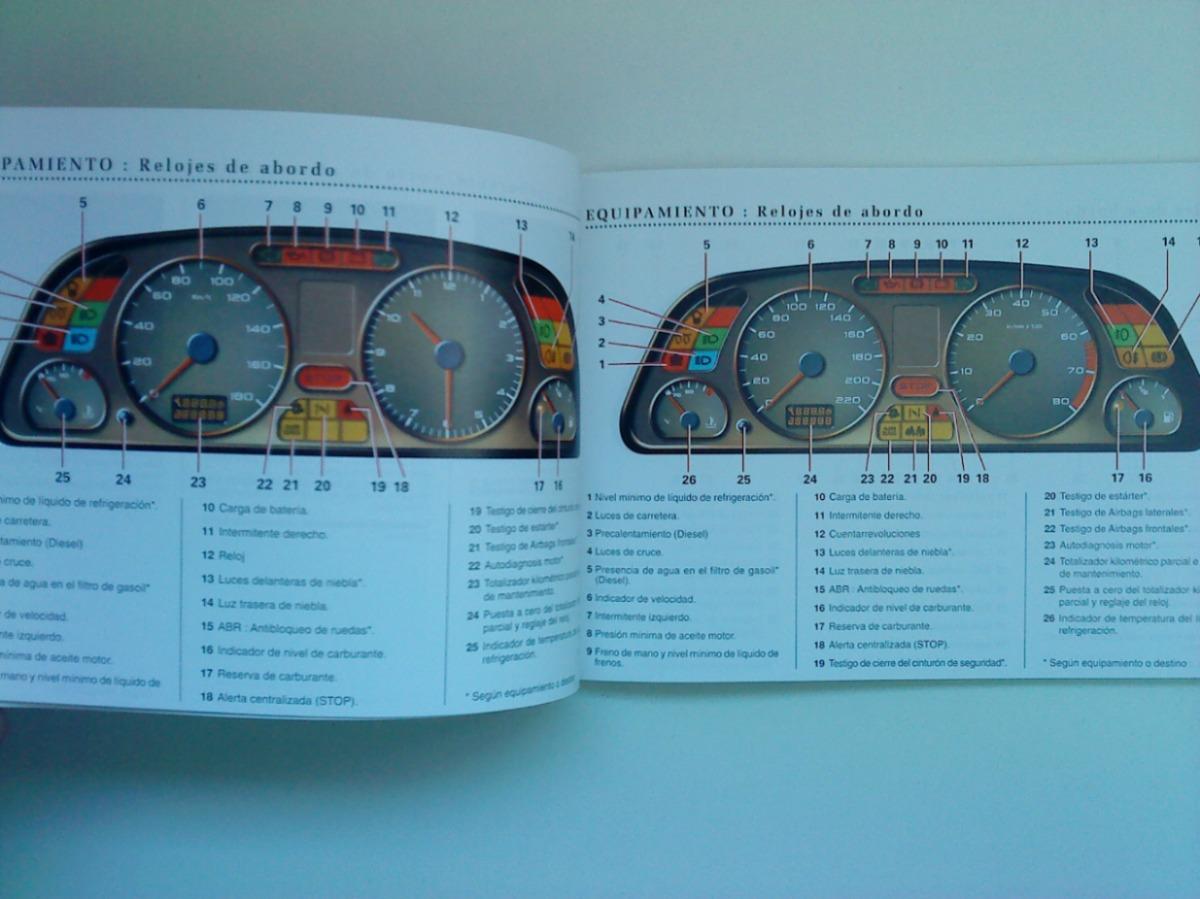 Libro-manual 100% Original De Uso: Peugeot 306 Coupé 1997/98 ...