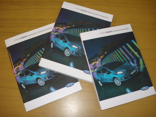 libro manual 100% original ford fiesta 2015  (3 manual) #
