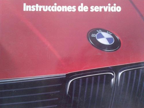 libro manual de bmw 316 318 320 325i-324d/cabrio/touring '90