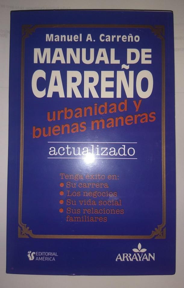 libro manual de carre o urbanidad y buenas maneras 5 990 en rh articulo mercadolibre cl Karen Carreno Wallpaper el manual de carreno libro gratis