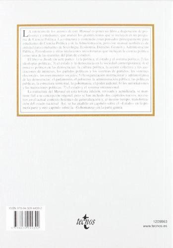 libro manual de ciencia política - nuevo -