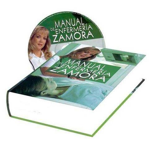 libro manual de enfermeria zamora + cd