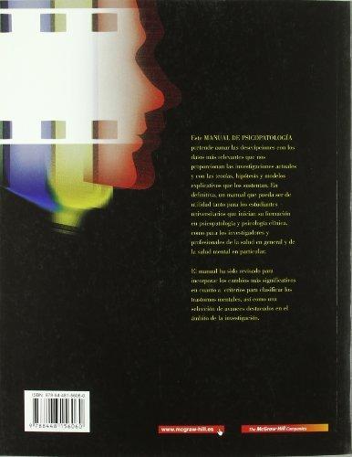 libro manual de psicopatologia. vol. ii - nuevo