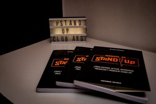 libro: manual de stand up. ¡cómo escribir, actuar...!