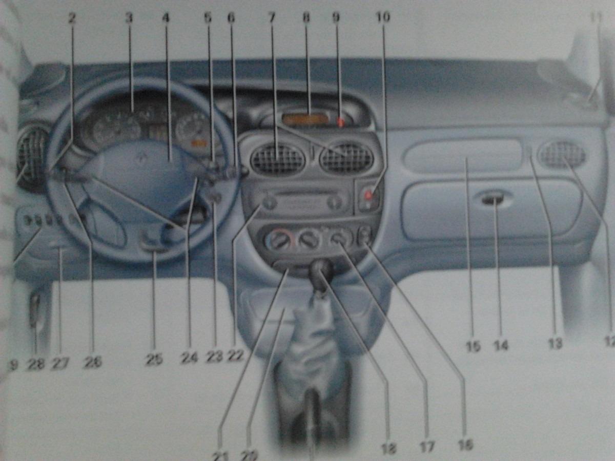 libro manual de uso original renault megane sc nic 2001 03 rh articulo mercadolibre com ar manual de taller renault scenic manual de renault scenic 2005