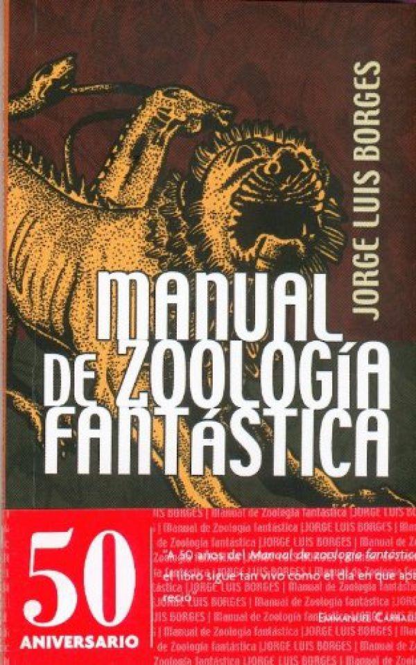 Manual de zoología fantástica   libro   biblioteca   la tercera.