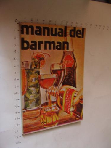 libro manual del barman, 96 paginas