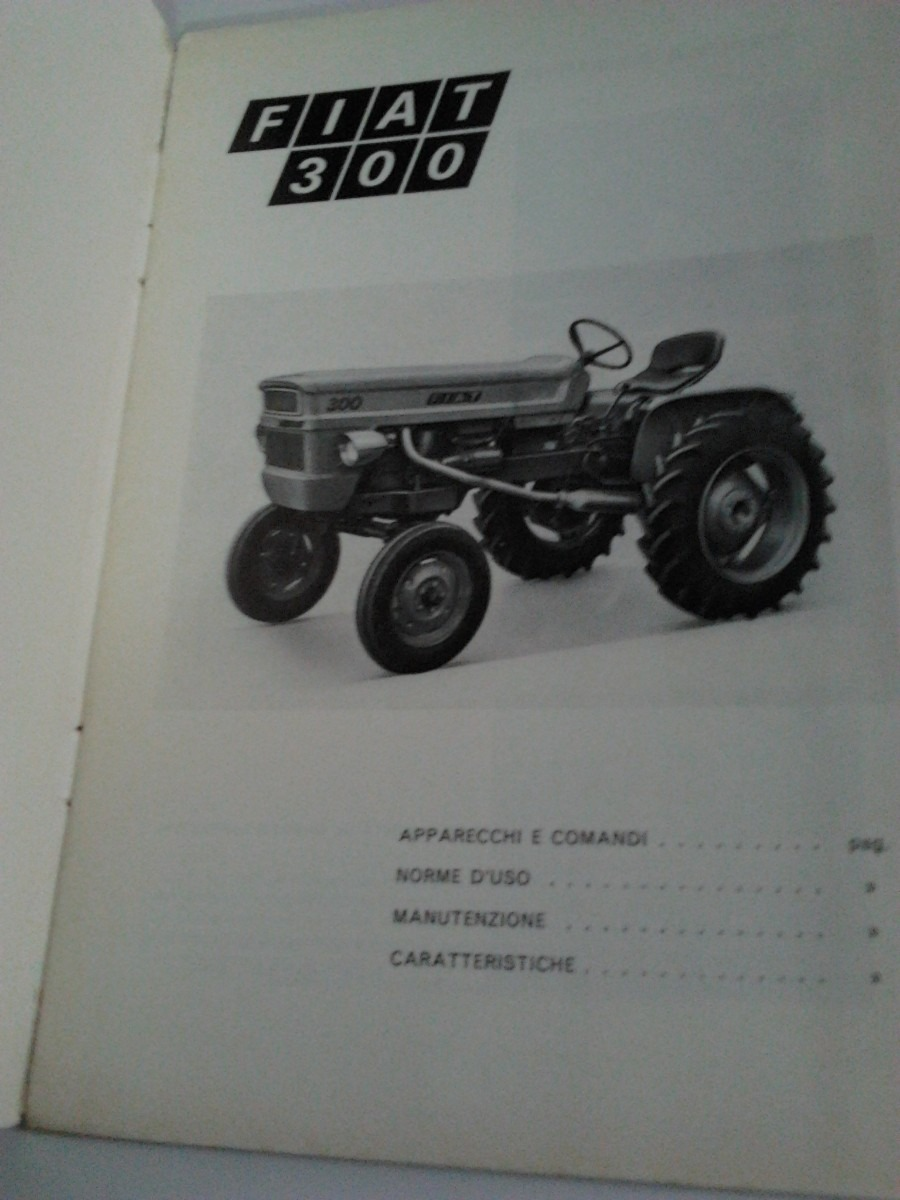 libro manual original de usuario tractor fiat 300 a o 1971 790 rh articulo  mercadolibre com ar Belarus Tractor Lamborghini Tractors