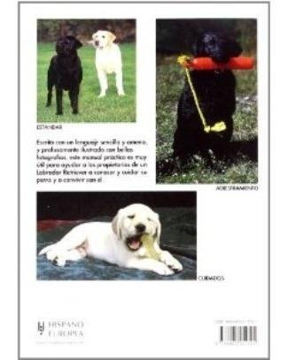 libro, manual práctico de labrador retriever richard burrows