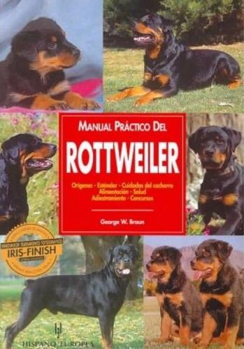 libro, manual práctico del rottweiler de george w. braun.