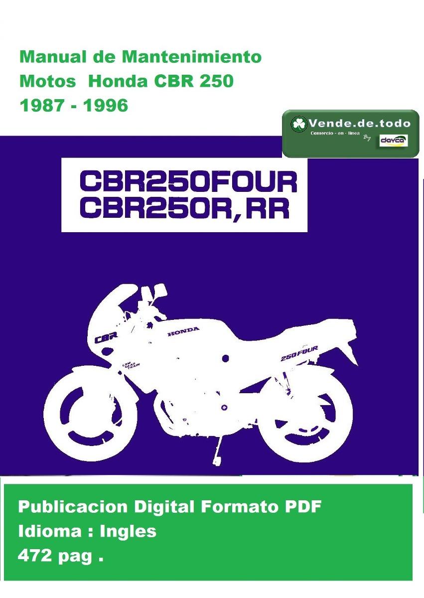 Cbr250r Mc19 Wiring Diagram Trusted Diagrams Cbr250 Libro Manual Servicio Reparacion Moto Honda Cbr 250 Bs 47 Refrigerator