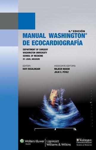 libro manual washington de ecocardiografía - nuevo