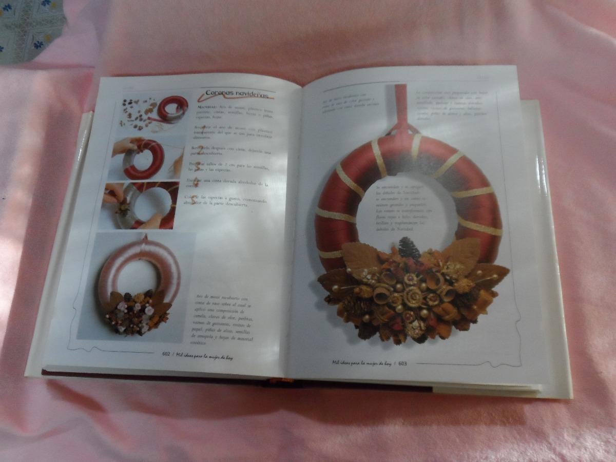 Libro Manualidades 760 Hojas Navidad Hogar Decoración 65000