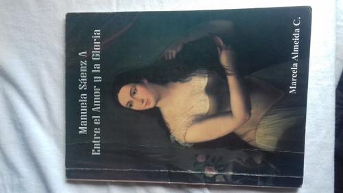 libro manuela saenz  entre el amor y la gloria
