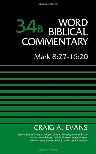 libro mark 8:27-16:20: 34 - nuevo