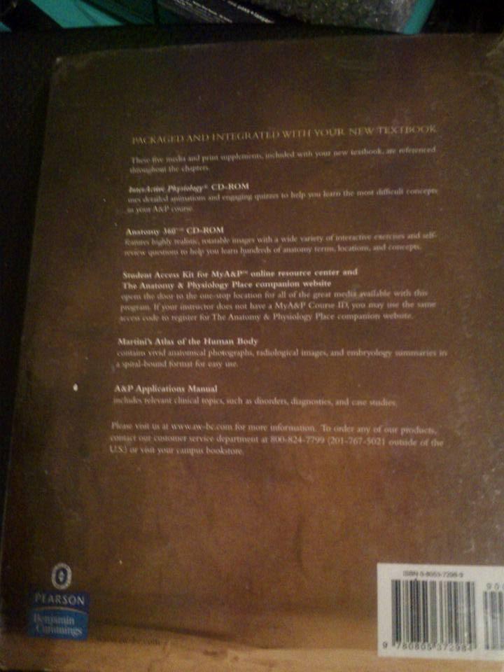 Magnífico Anatomía Y Fisiología Del Libro De Texto De Pearson Modelo ...