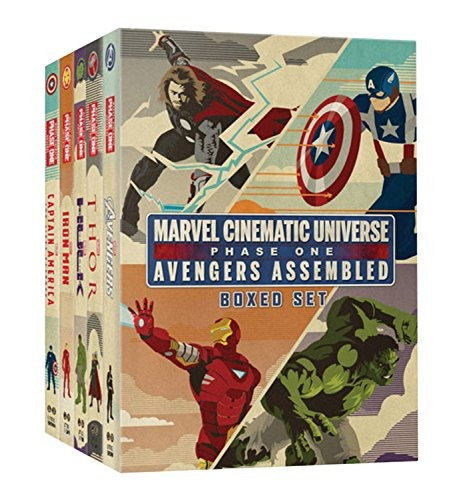 libro marvel cinematic universe: avengers assembled - nuevo