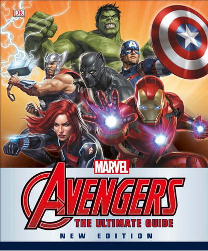 libro: marvel the avengers  the ultimate guide, new edition