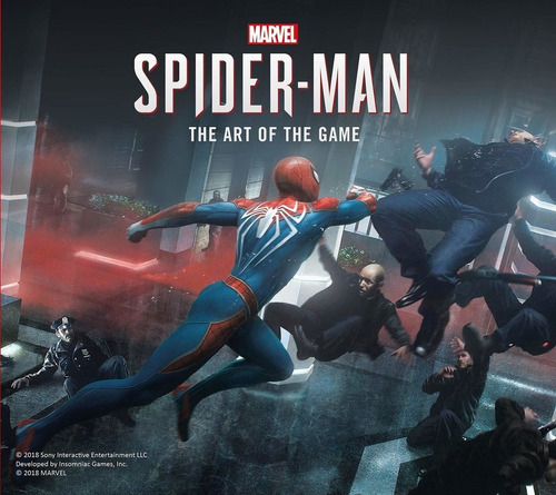 libro: marvel's spider-man - the art of the game