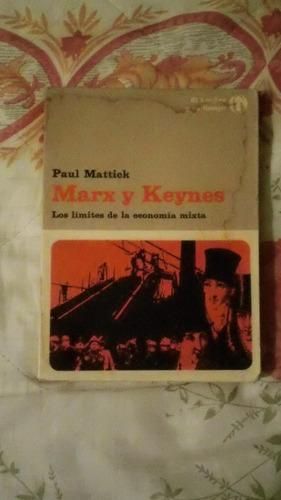 libro marx y keynes, paul mattick.