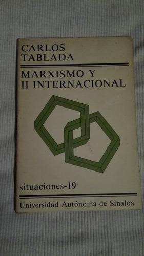 libro marxismo y ii internacional, carlos tablada.