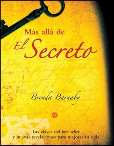 libro, más allá de el secreto brenda barnaby 100% original.