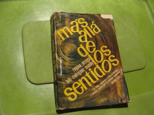 libro mas alla de los sentidos , regina orrego , 266 paginas