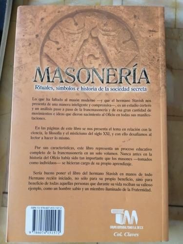 libro masonería, rituales, símbolos e historia de la soc...