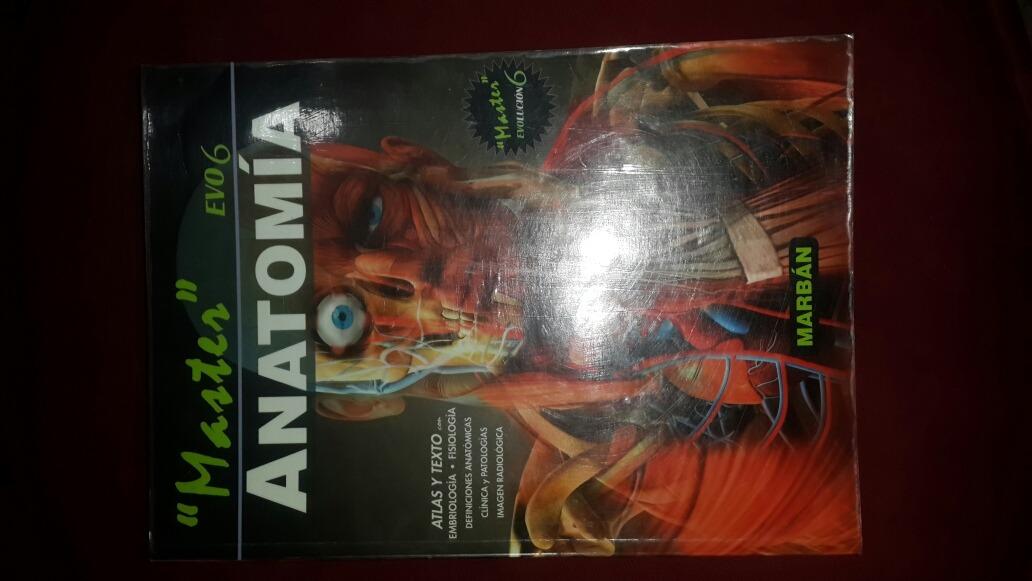 Libro Máster Anatomía De Marban Evo 6 Atlas Y Texto - Bs. 70.000,00 ...