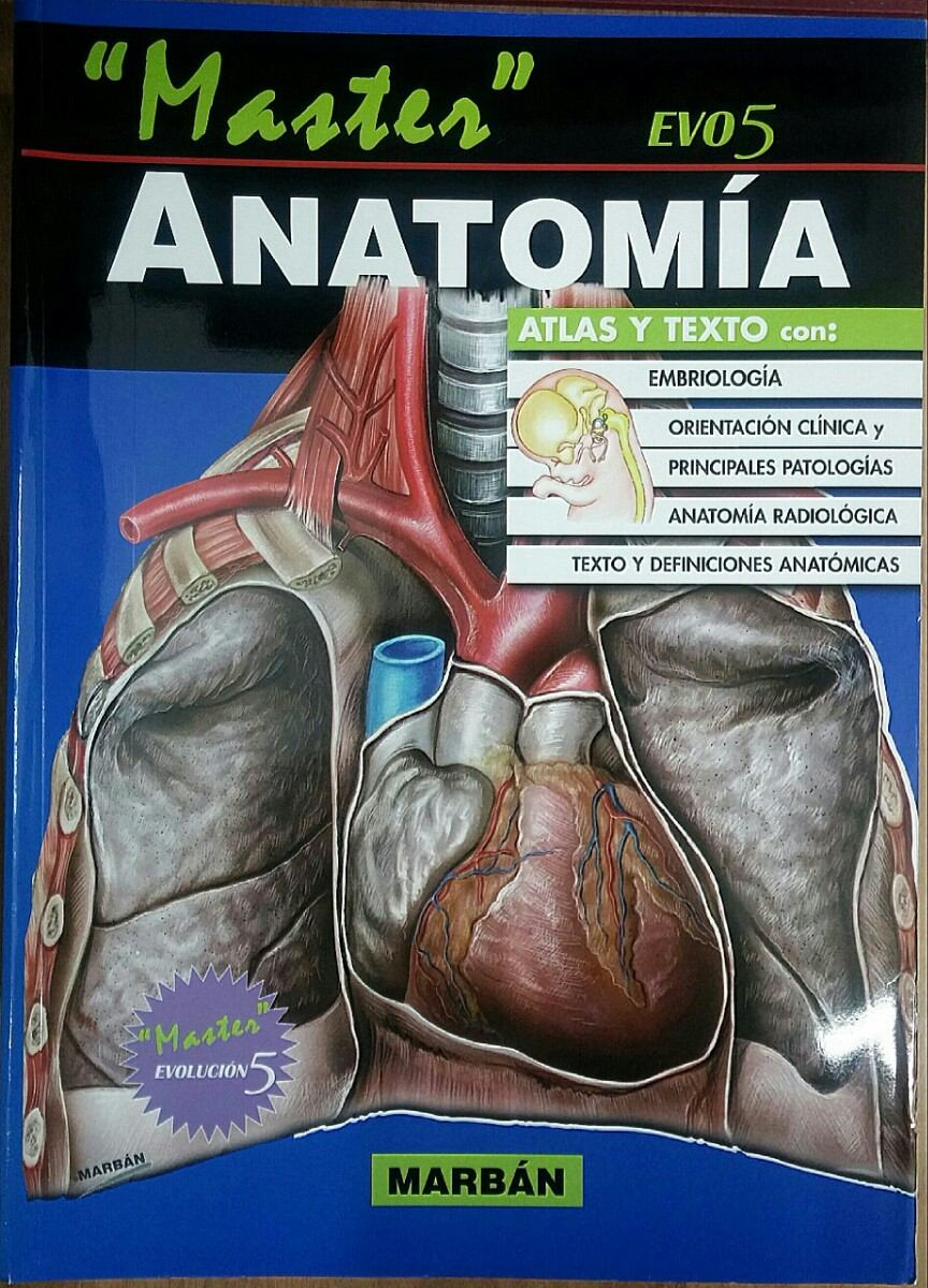 Libro. Master ( Evo5 ) Anatomía. ( Marban. - Bs. 179,00 en Mercado Libre