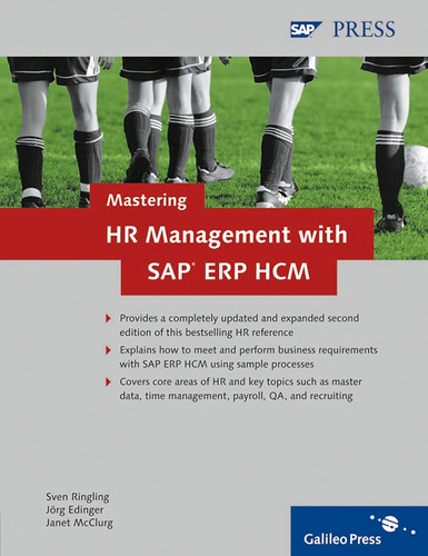 libro mastering hr management with sap erp hcm